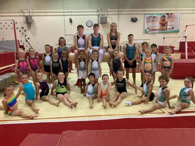 YMCA Barry gymnasts