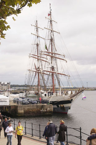 Change in store for Barry Tall Ships Festival