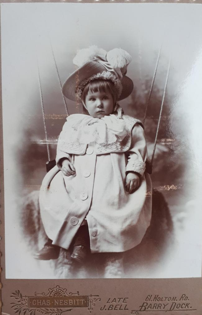 An unknown baby photographed in 1902