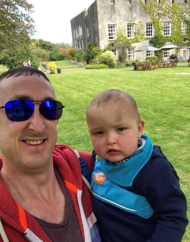 Asthma-sufferer Barry dad to tackle Everest base camp for Noah's Ark children's hospital which treated his baby son