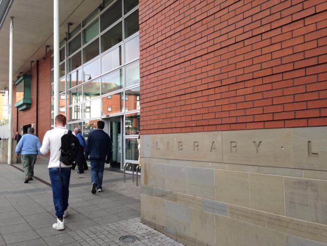 Barry library, King Square