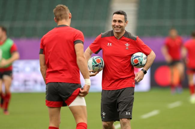 FIRED UP: Coach Stephen Jones believes Wales' 2011 loss to France gives them extra motivation