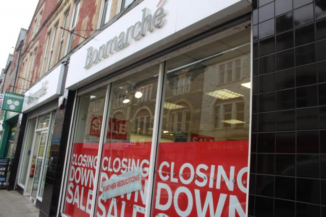 Bonmarche, in Holton Road, Barry