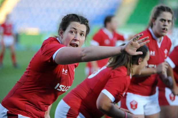 LIFE LESSONS: Maths teacher and Wales prop Cerys Hale