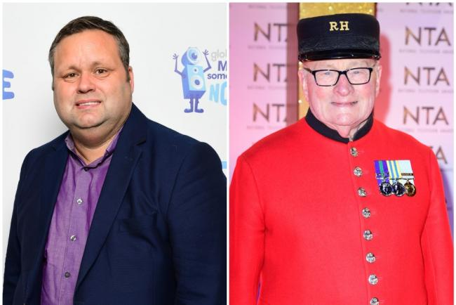 Paul Potts and Colin Thackery