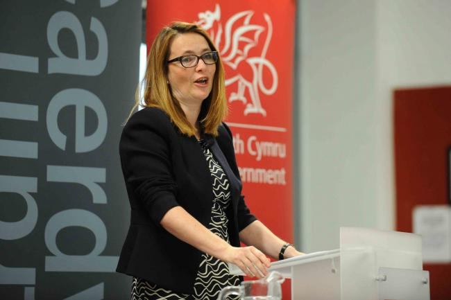 Welsh Government education minister, Kirsty Williams. Pic: Wales News Service