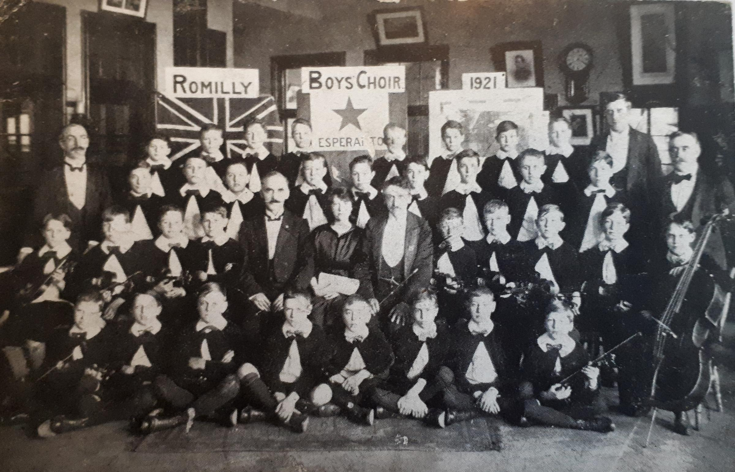 From the Archive: Romilly School Boys Choir goes on tour