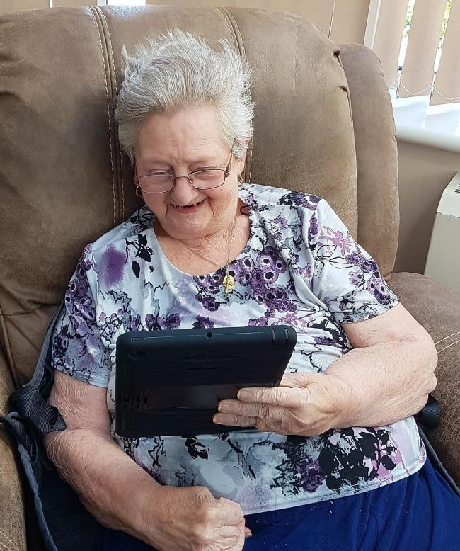 Care home residents benefit from technology