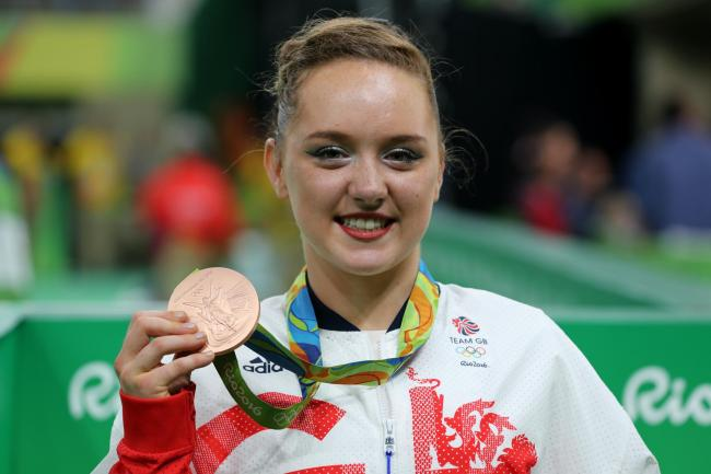 Amy Tinkler has hit out at British Gymnastics