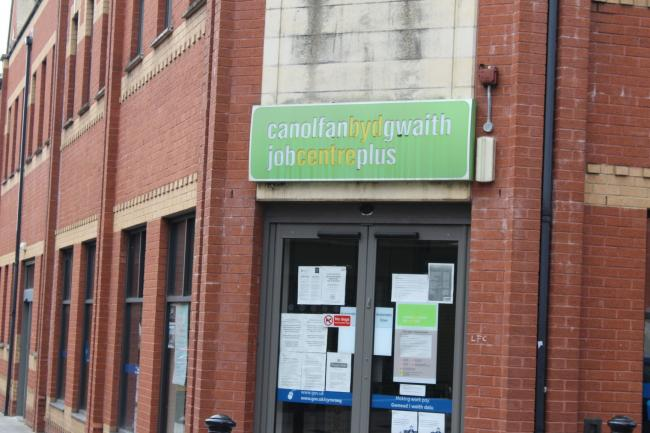 JobCentre Plus, in Holton Road, Barry