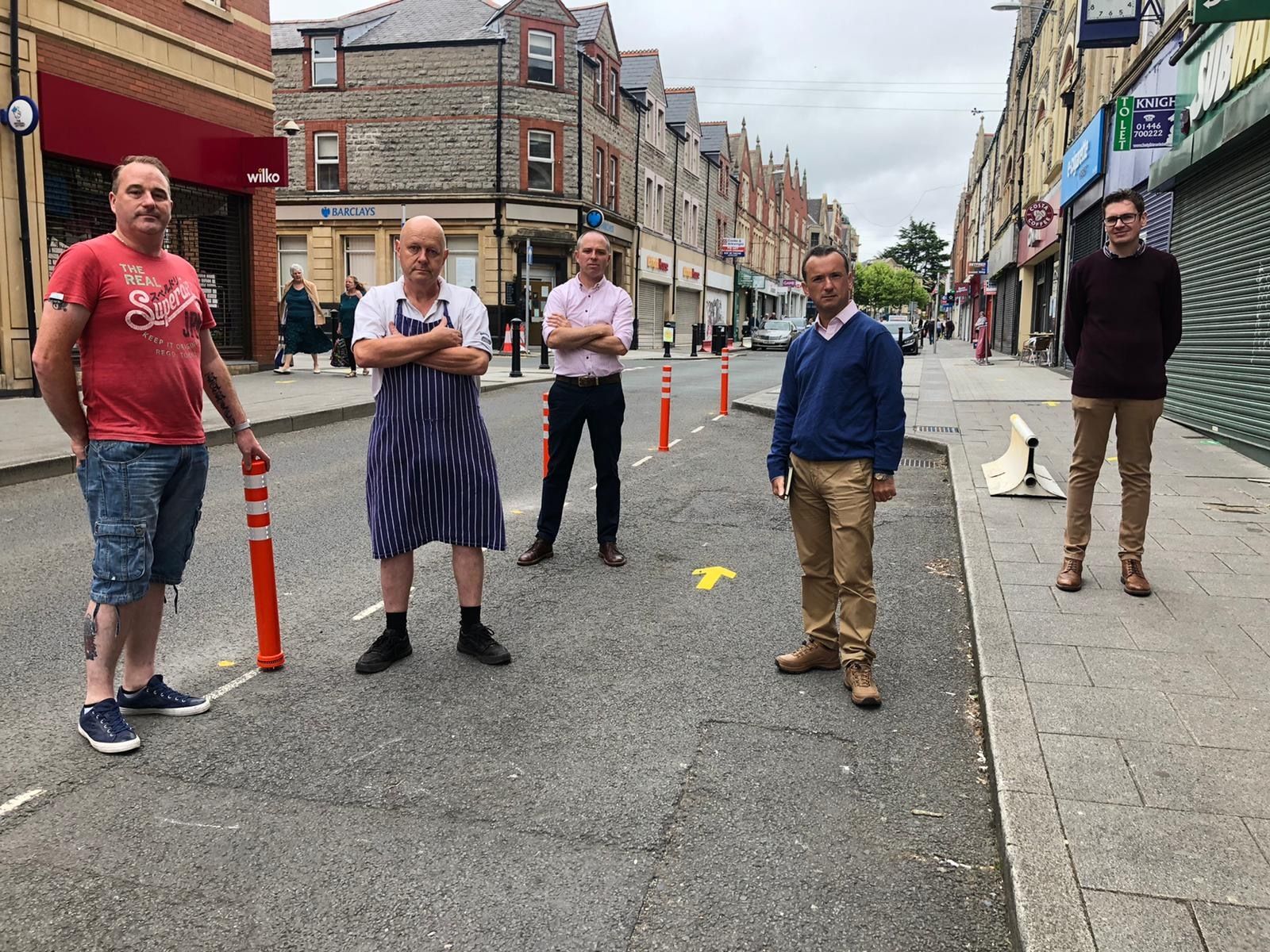 Chaotic parking restrictions in Barry challenged by Tory councillors and MP