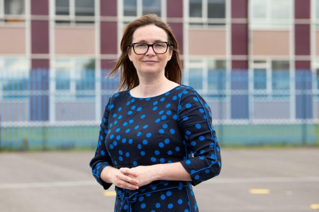 Education minister, Kirsty Williams