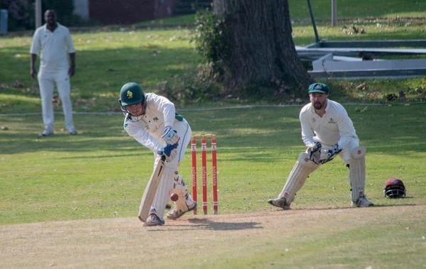 Sully's 18 year-old Gethin Hicks at the crease