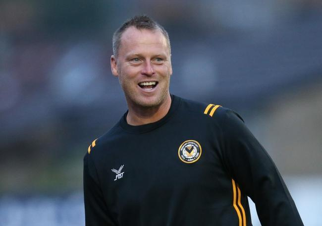 Newport County AFC manager Michael Flynn