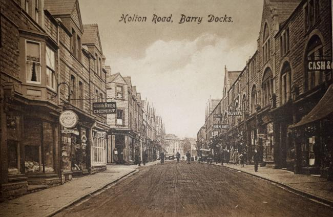 Holton Road, Barry Docks