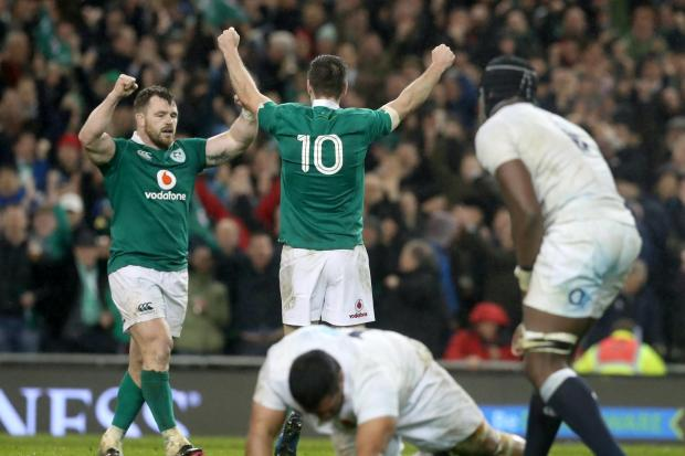 Cian Healy, left, can win his 100th Ireland cap as Andy Farrell's side chase Six Nations glory against France in Paris