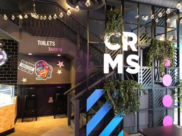 Barry And District News: The interior of Creams on Queen Street in Cardiff (Picture: Creams)