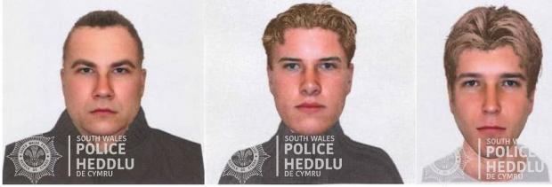 Barry And District News: The e-fit issued by South Wales Police