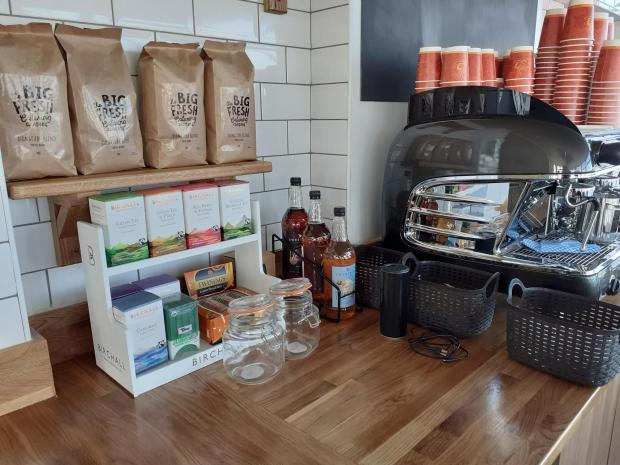 Barry And District News: The cafe opened earlier this year at the Pier