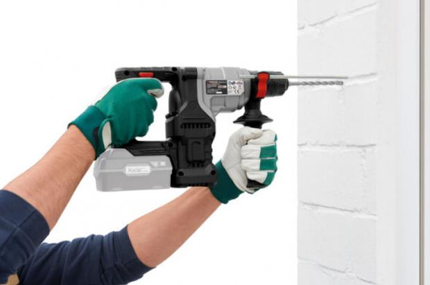 Barry And District News: Parkside 20V Cordless Combi Hammer Drill – Bare Unit. (Lidl)