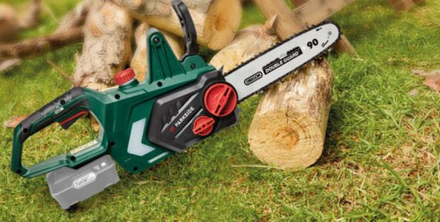 Barry And District News: Parkside 20V Cordless Chainsaw – Bare Unit. (Lidl)