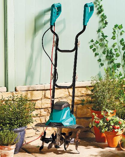 Barry And District News: Electric Tiller. (Aldi)
