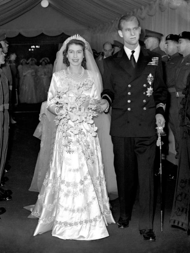 Barry And District News: Princess Elizabeth and the Duke of Edinburgh leaving Westminster Abbey after their wedding ceremony (PA)
