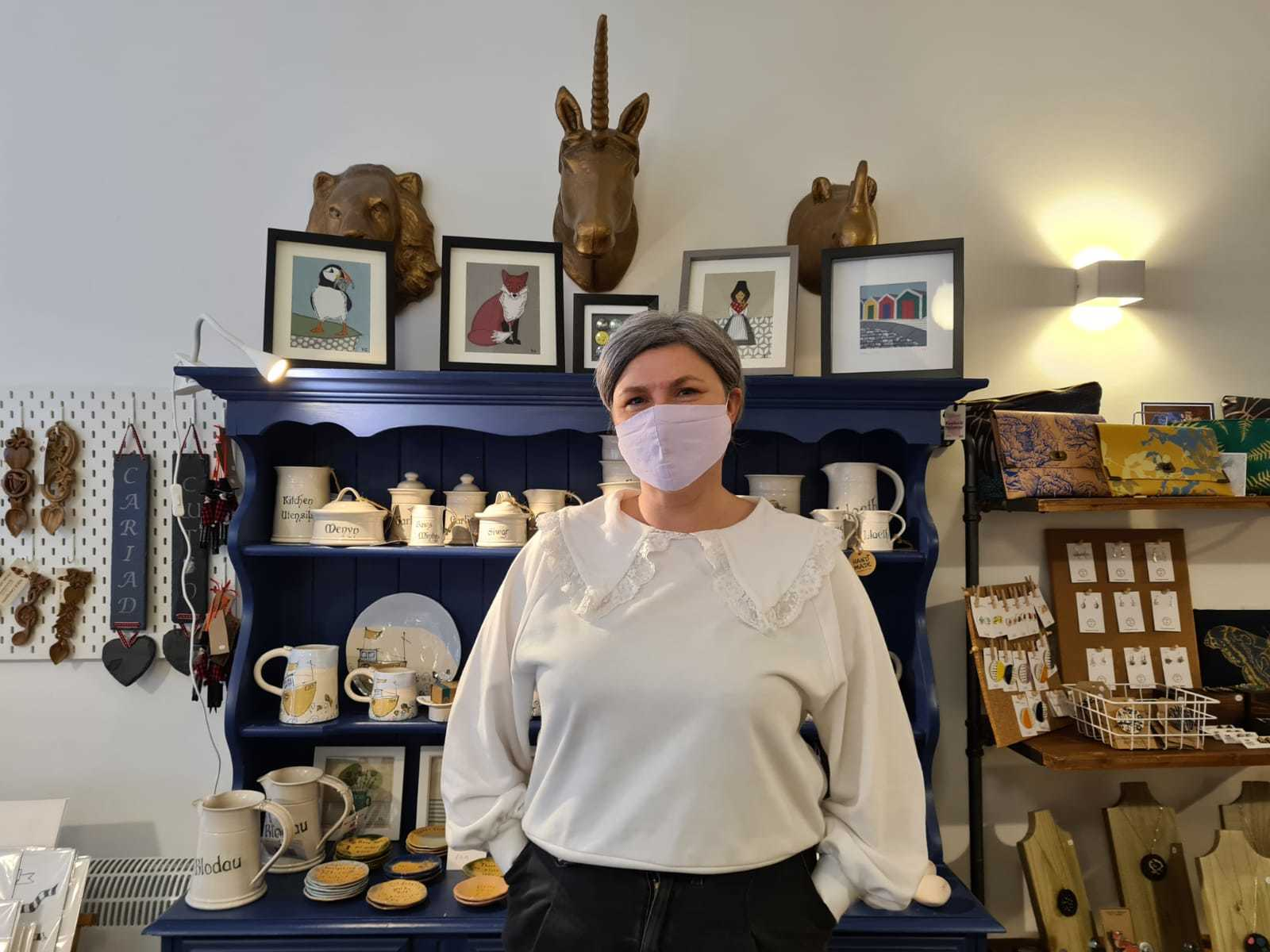 Fay Blakeley of Homemade Wales in Barry