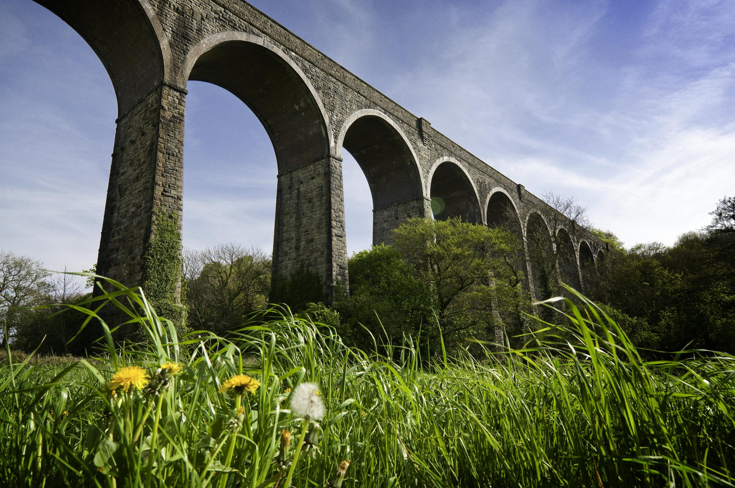 Viaduct at Porthkerry Country Park