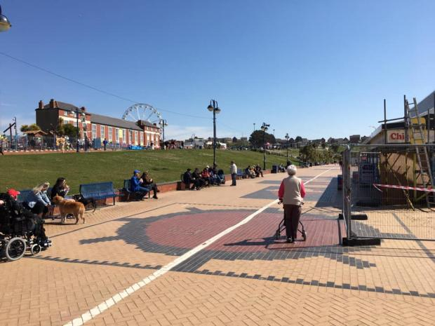 Barry And District News: The sun was shining in Barry Island. Picture: Visit Barry Island