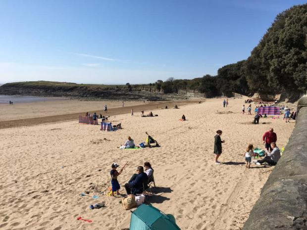 Barry And District News: It was a lovely day for it. Picture: Visit Barry Island