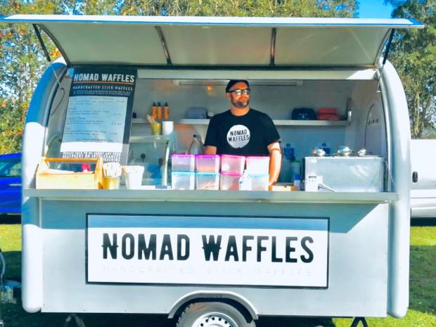 Barry And District News: Nomad Waffles - one of the traders that will be at the event.