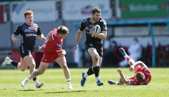 INFLUENTIAL: Wales speedster Jonah Holmes has been in fine form for the Dragons