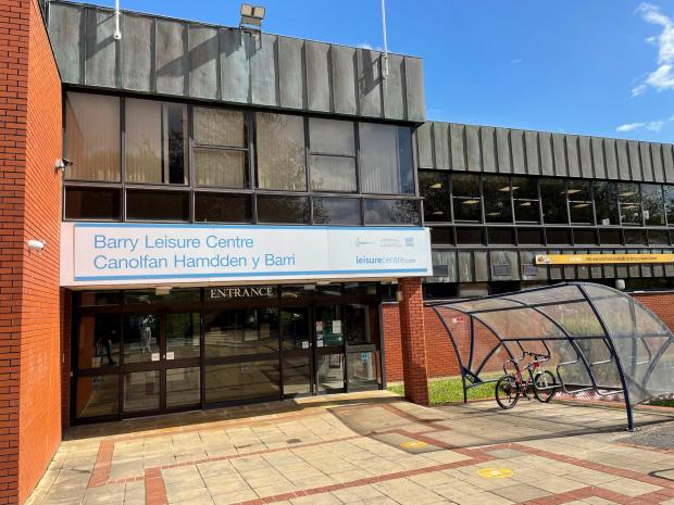 Barry And District News: Barry Leisure Centre