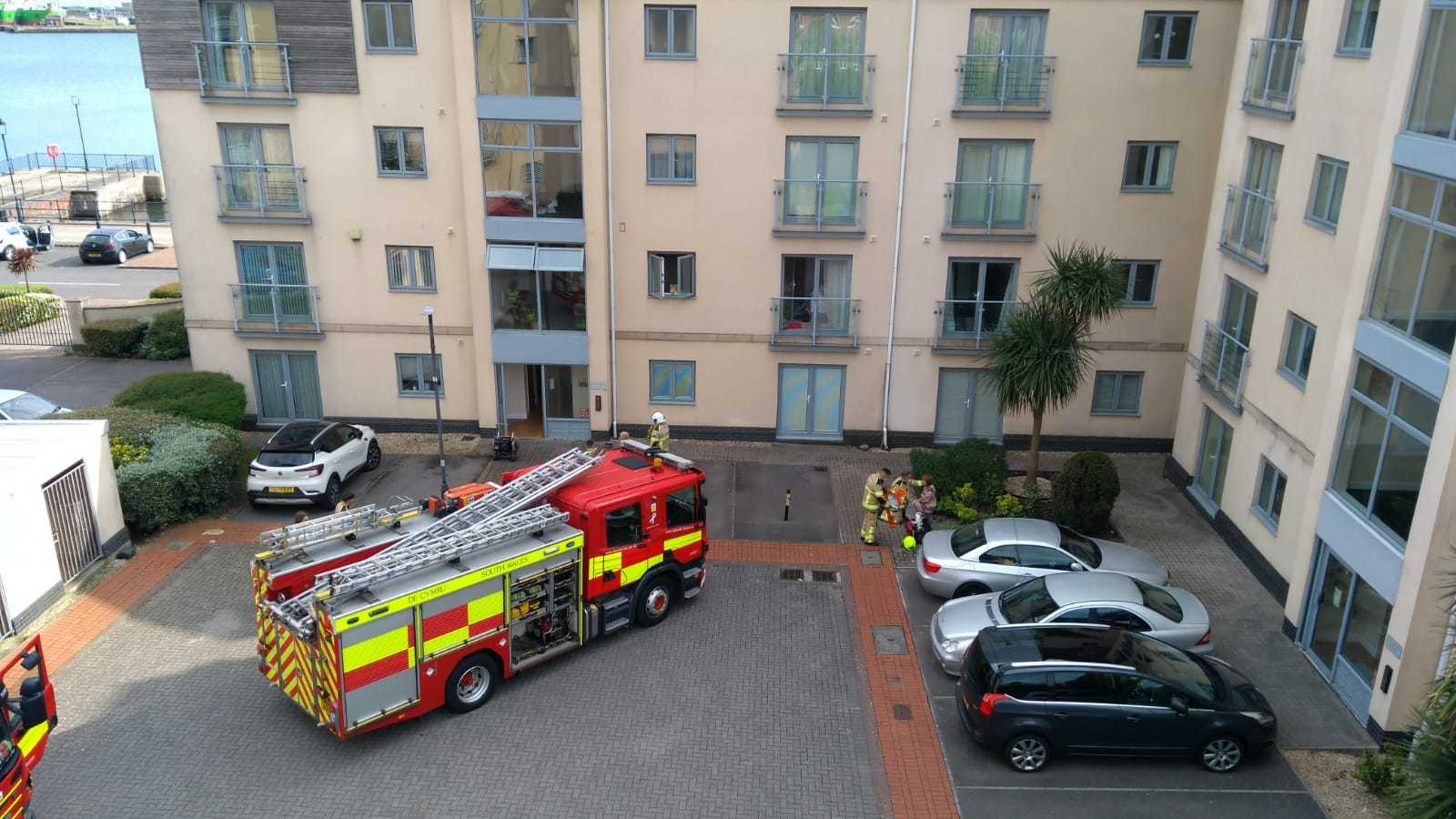 SWFRS at the scene in Barry