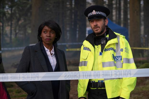 Barry And District News: Rakie Ayola and Jason Hughes in The Pact. Picture: PA Photo/BBC/Little Door (The Pact)/Warren Orchard.BBC handout/
