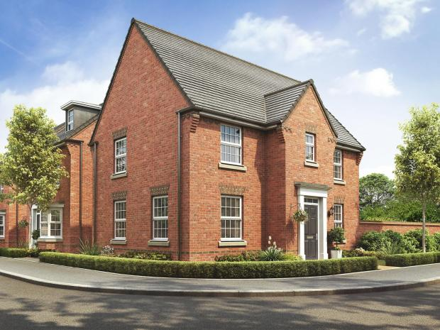 Barry And District News: Hollinwood housetype CGI DWH