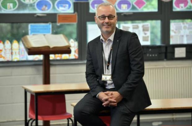 Barry And District News: Headteacher Mr David Blackwell