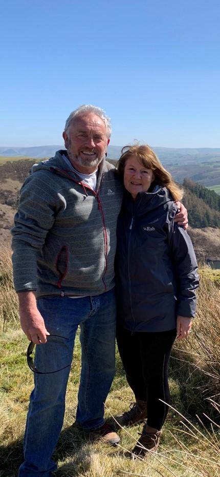 Barry And District News: Ruth and Paul McDonald from the Vale of Glamorgan are taking on the challenge