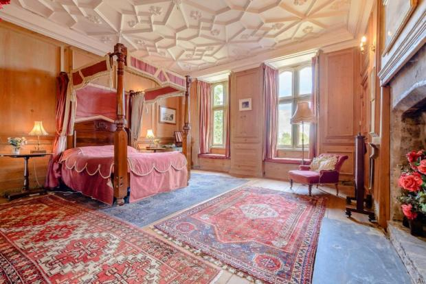 Barry And District News: One of the wings of Plas Llanmihangel. Picture: Savills Cardiff on Rightmove
