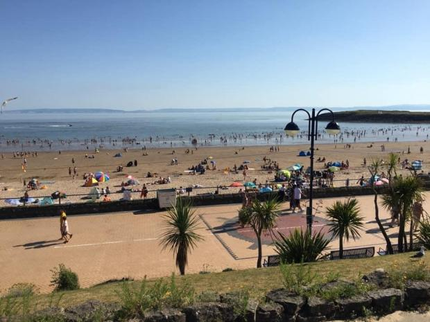 Barry And District News: Barry Island is always the place to go when the sun comes out. Picture: Visit Barry Island