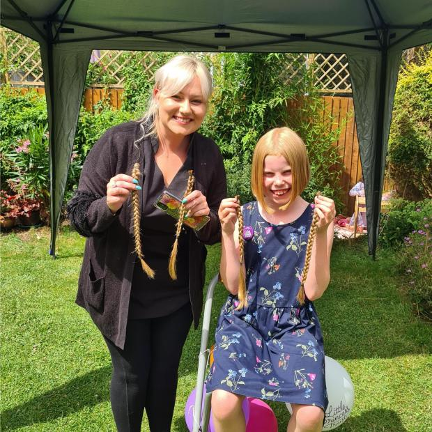 Barry And District News: The hair and money will be donated to Little Princess Trust