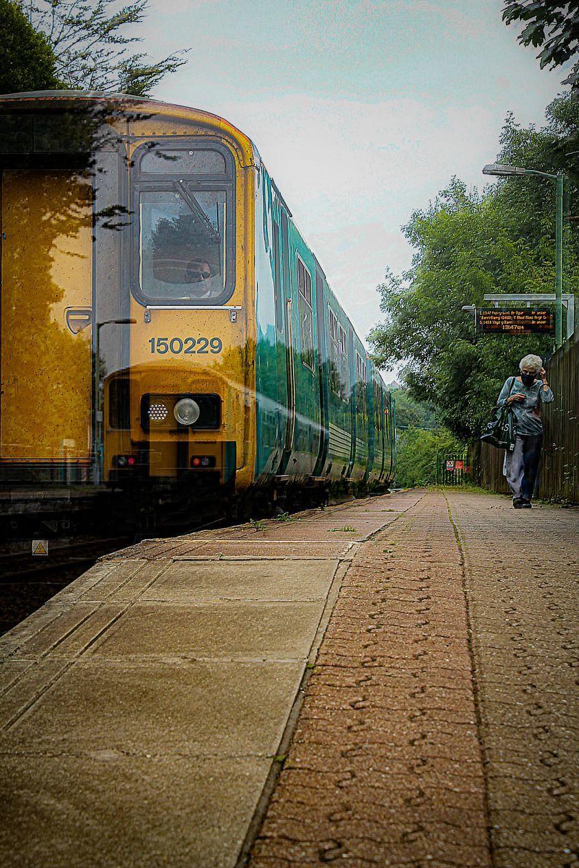 Jordan Clements took this photo at Dinas railway station