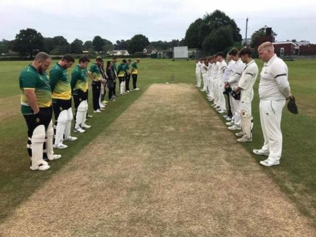 Barry And District News: A minute's silence was observed to Maqsood Anwar before Sully Centurions Cricket Club's First XI match against Ponthir Cricket Club