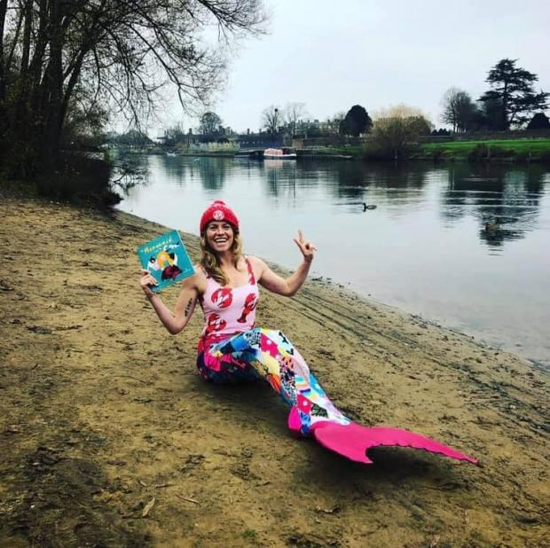 Barry And District News: The Mermaid and the Cow is based on her experience (Picture: Lindsey Cole)