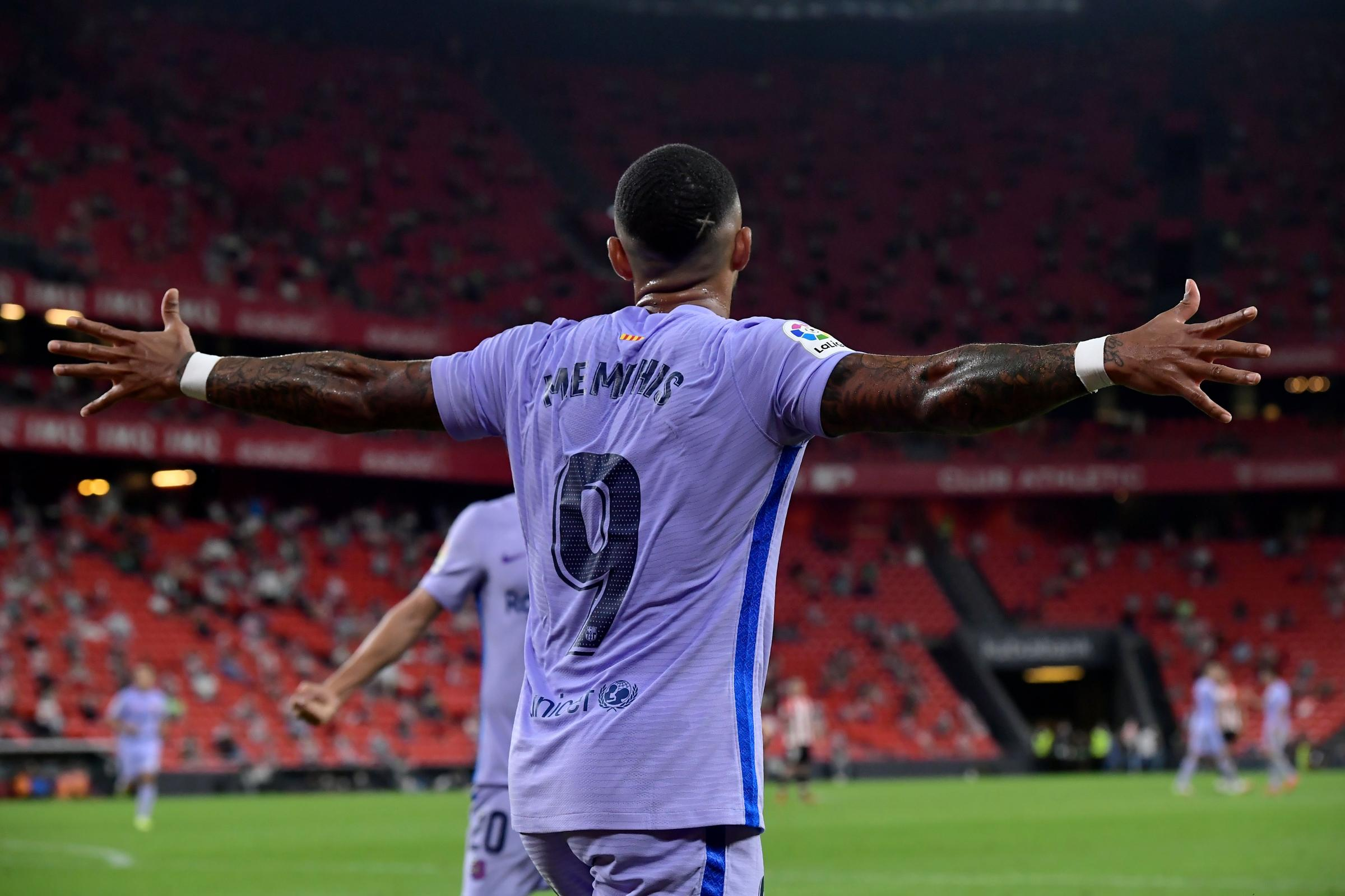 Memphis Depay heading in the right direction as Barcelona snatch draw at Athletic Bilbao