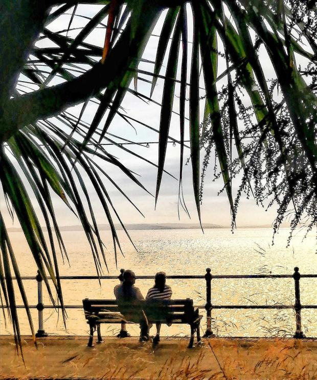 Barry And District News: Penarth Pier taken by Lesley Lawrence.
