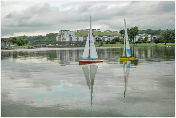 Barry And District News: Knap Lake taken by Tina Haydon.