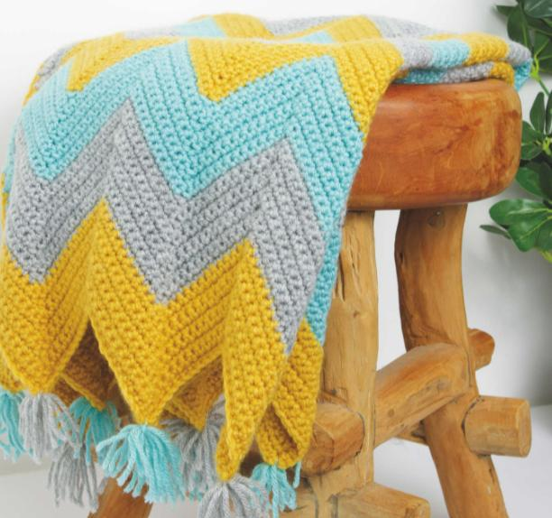 Barry And District News: So Crafty Crochet Blanket Kit. (Aldi)