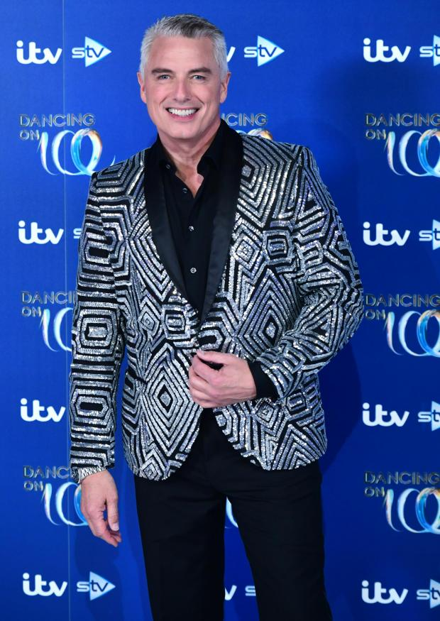 Barry And District News: John Barrowman who will no longer feature on Dancing On Ice, ITV has announced. Credit: PA